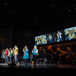 Praise Team sings Christmas Offering