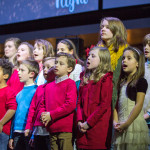 KidsChoir joins the Worship Ministry on stage