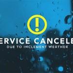 service canceled