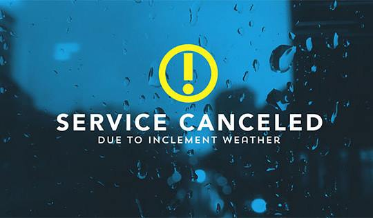 service canceled