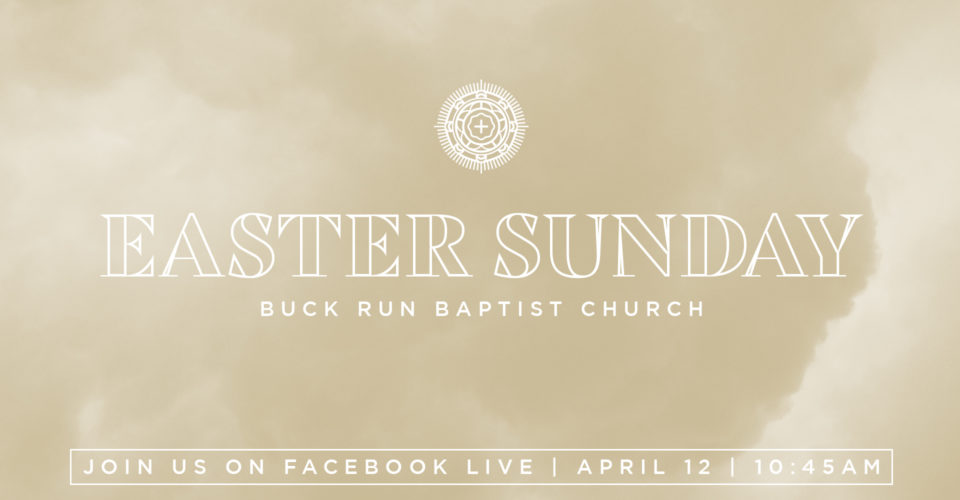 Celebrate the resurrection of Jesus on our live-stream at 10:45 AM this Sunday.