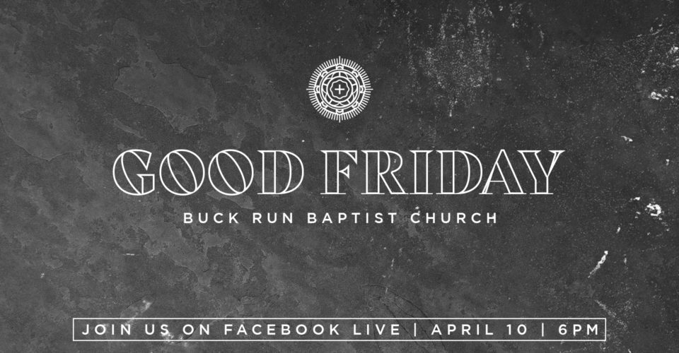 Join us Friday night at 6:00 PM as we remember the weight and grief of Calvary.