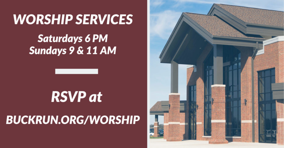 RSVP for this weekend's services here.